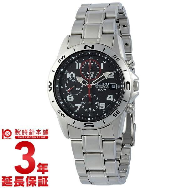 セイコー 逆輸入モデル クロノグラフ CHRONOGRAPH SND375P [海外輸入品] メンズ 腕時計 時計