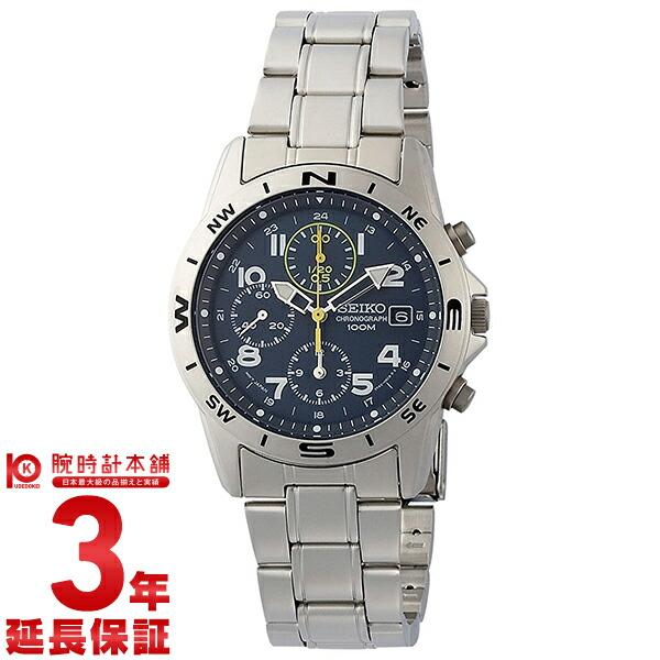 セイコー 逆輸入モデル クロノグラフ CHRONOGRAPH SND379P [海外輸入品] メンズ 腕時計 時計