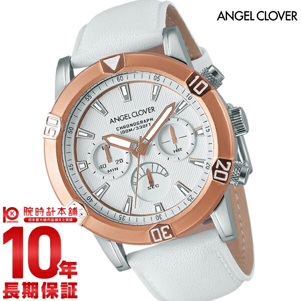 エンジェルクローバー 時計 AngelClover ブリオ BR43PWH-WH [正規品] メンズ 腕時計