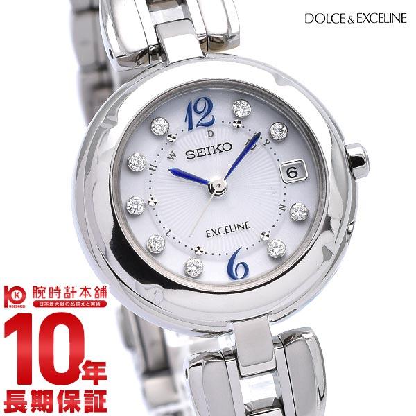 最大1200円割引クーポン対象店 セイコー ドルチェ&エクセリーヌ DOLCE&EXCELINE SWCW121 [正規品] レディース 腕時計 時計【あす楽】