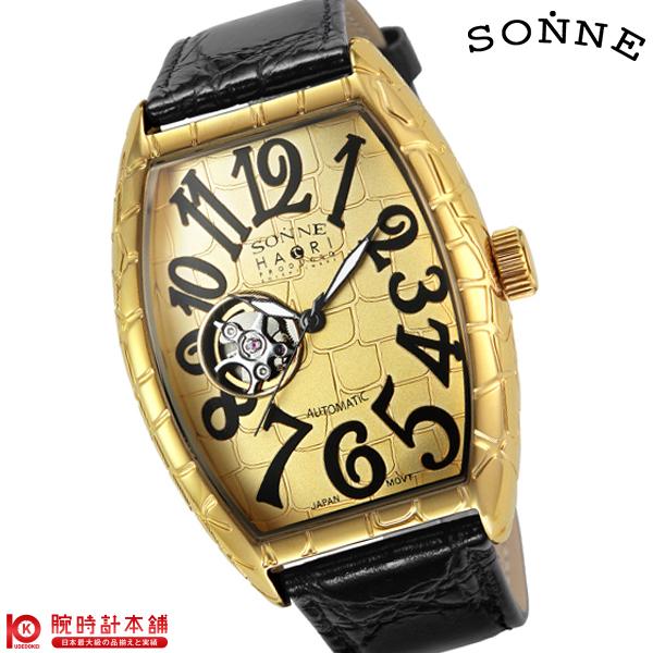 ゾンネ SONNE ゾンネ×ハオリ 岩城滉一 コラボモデル H005YG-JP [正規品] メンズ 腕時計 時計