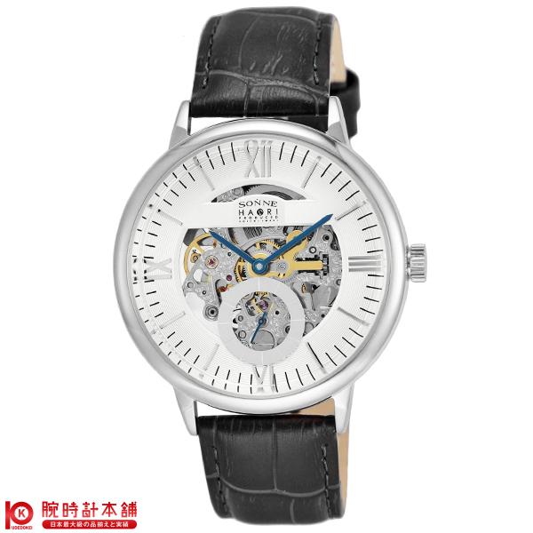 ゾンネ SONNE ゾンネ×ハオリ 岩城滉一 コラボモデル H014SS-SV [正規品] メンズ 腕時計 時計 【dl】brand deal15