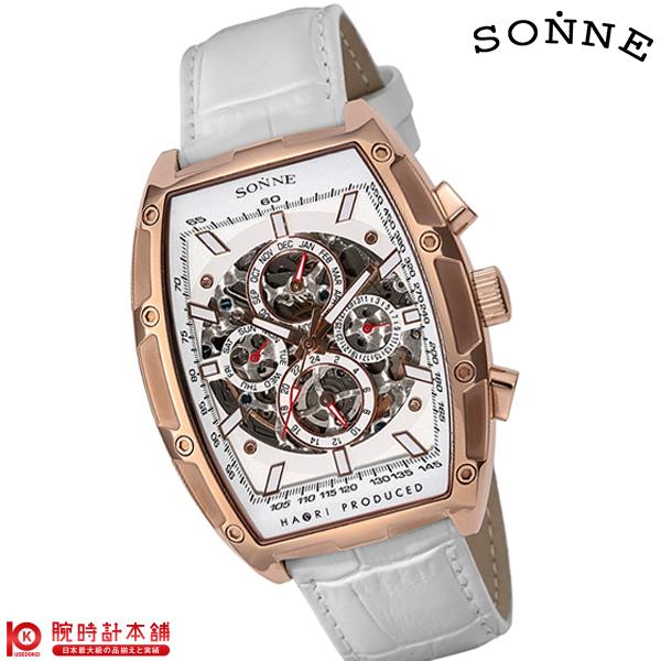 ゾンネ SONNE ゾンネ×ハオリ 岩城滉一 コラボモデル H018PG-WH [正規品] メンズ 腕時計 時計