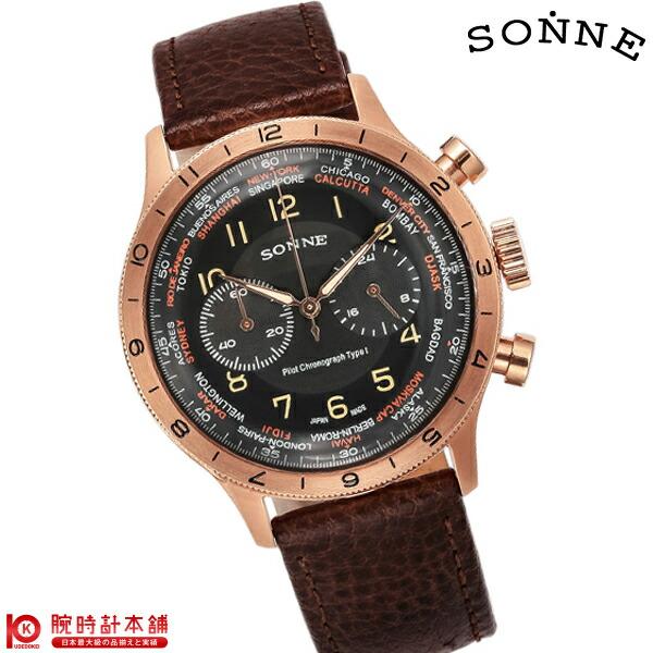 ゾンネ SONNE ヒストリカルコレクション HI003PG-BR [正規品] メンズ 腕時計 時計
