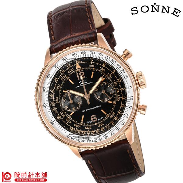 最大1200円割引クーポン対象店 ゾンネ SONNE パイロットクロノグラフタイプ2 HI004PG-BR [正規品] メンズ 腕時計 時計