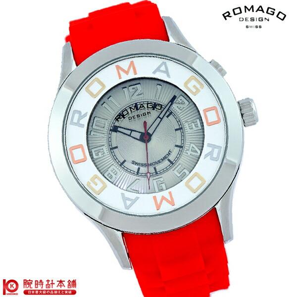 ロマゴデザイン ROMAGODESIGN RM015-0162PL-RDSV [正規品] メンズ&レディース 腕時計 時計