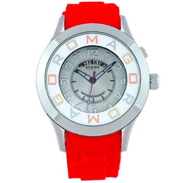 【2000円割引クーポン】ロマゴデザイン ROMAGODESIGN  RM015-0162PL-RDSV [正規品] メンズ&レディース 腕時計 時計