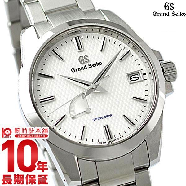 セイコー グランドセイコー GRANDSEIKO 9Rスプリングドライブ 10気圧防水 SBGA225 [正規品] メンズ 腕時計 時計