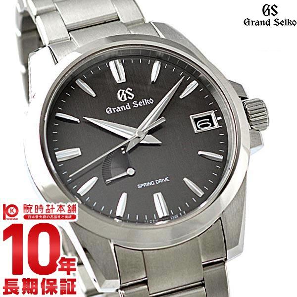 セイコー グランドセイコー GRANDSEIKO 9Rスプリングドライブ 10気圧防水 機械式(自動巻き) SBGA281 [正規品] メンズ 腕時計 時計【あす楽】