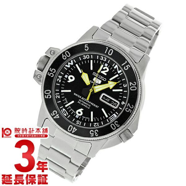 最大1200円割引クーポン対象店 セイコー 腕時計 逆輸入モデル SEIKO5 腕時計 SKZ211J1 メンズ