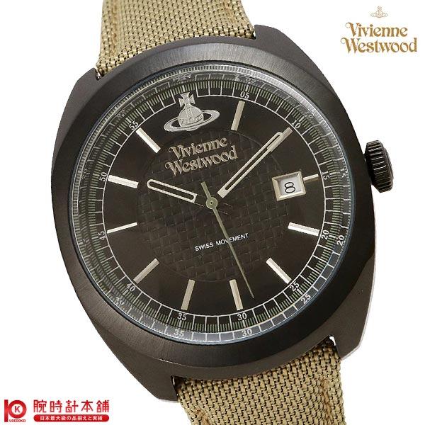 【20日まで!当店なら1万円OFFクーポン使える!】 ヴィヴィアン 時計 ヴィヴィアンウエストウッド VV136BKBG メンズ