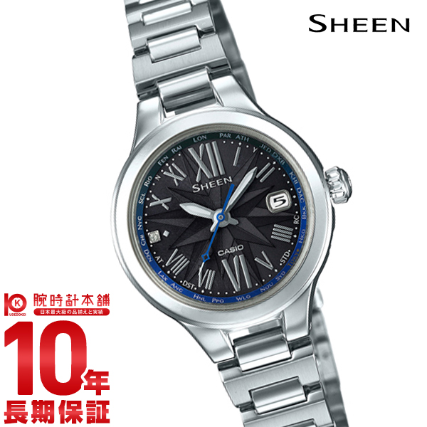 カシオ シーン SHEEN SHW-1750D-1AJF [正規品] レディース 腕時計 時計【24回金利0%】(予約受付中)