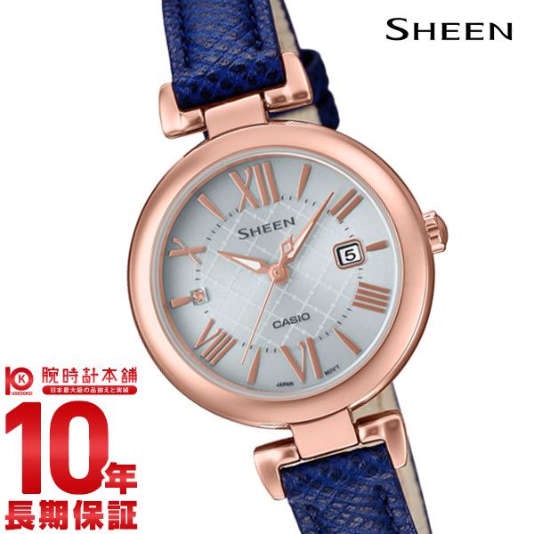 【店内最大37倍!28日23:59まで】カシオ シーン SHEEN SHS-4502PGL-7AJF [正規品] レディース 腕時計 時計(予約受付中)