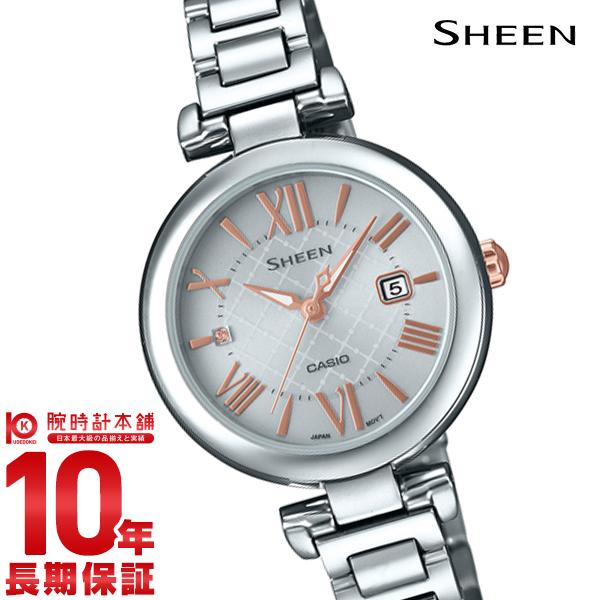 カシオ シーン SHEEN SHS-4502D-7AJF [正規品] レディース 腕時計 時計(予約受付中)