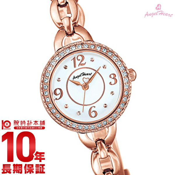 最大1200円割引クーポン対象店 【1000円割引クーポン】エンジェルハート 腕時計 AngelHeart CrystalHoney CH24PW [正規品] レディース 時計