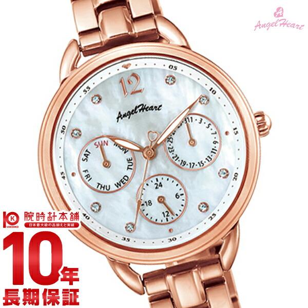 【店内最大37倍!28日23:59まで】【2000円割引クーポン】エンジェルハート 腕時計 AngelHeart LittleHeart LH33PG [正規品] レディース 時計