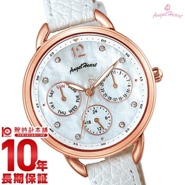 【当店限定1000円割引クーポン】エンジェルハート 腕時計 AngelHeart LittleHeart LH33P-WH [正規品] レディース 時計