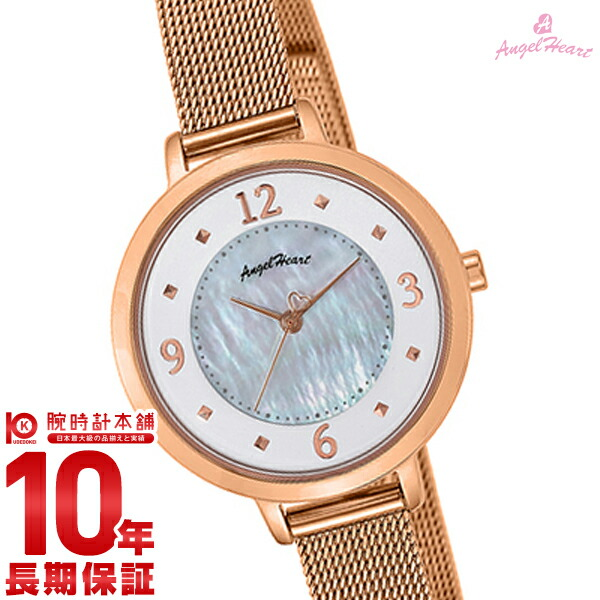 【1000円割引クーポン】エンジェルハート 腕時計 AngelHeart NudieDrop ND30PG [正規品] レディース 時計