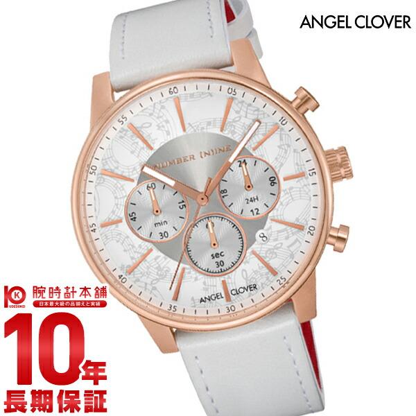【1000円割引クーポン】エンジェルクローバー 時計 AngelClover NUMBER(N)INEコラボ NNC42PWH-WH [正規品] メンズ 腕時計
