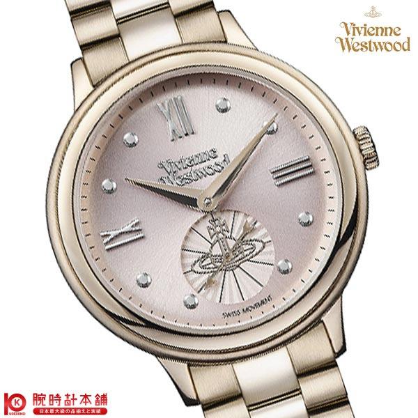 最大1200円割引クーポン対象店 ヴィヴィアン 時計 ヴィヴィアンウエストウッド VV158PKNU レディース
