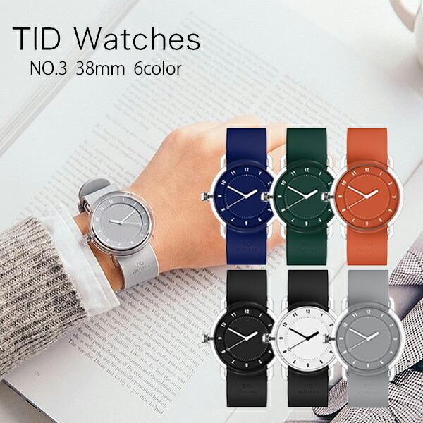 ティッドウォッチ TID Watches No.3 TID03-BK/BK [正規品] メンズ&レディース 腕時計 時計