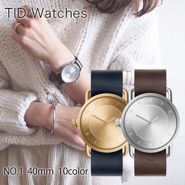 【当店限定3000円割引クーポン】ティッドウォッチ TID Watches No.1 TID01-GD/W [正規品] メンズ&レディース 腕時計 時計