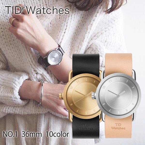 【当店限定3000円割引クーポン】ティッドウォッチ TID Watches No.1 TID01-36GD/W [正規品] メンズ&レディース 腕時計 時計