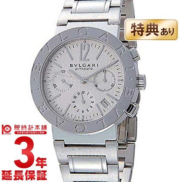 【ショッピングローン24回金利0%】ブルガリ BVLGARI ブルガリブルガリ ホワイト クロノグラフ 自動巻 BB38WSSD CH [海外輸入品] メンズ 腕時計 時計