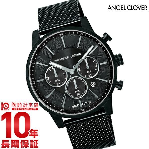 最大1200円割引クーポン対象店 【1000円割引クーポン】エンジェルクローバー 時計 AngelClover ナンバーナイン NNC42BBK [正規品] メンズ 腕時計