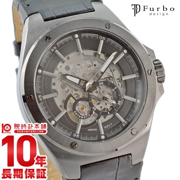 フルボ 時計 フルボデザイン 腕時計 Furbo F2501GBKBK メンズ【あす楽】