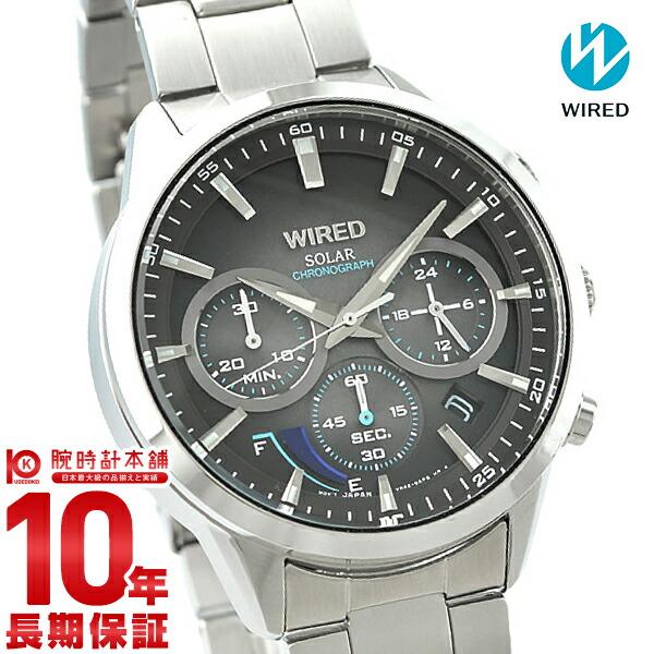 最大1200円割引クーポン対象店 セイコー ワイアード WIRED ソーラー ステンレス AGAD095 メンズ