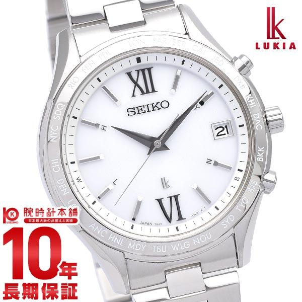 セイコー ルキア 新作 SEIKO LUKIA ペアモデル ソーラー電波 電波ソーラー ステンレス SSVH025 腕時計 メンズ シルバー ホワイト