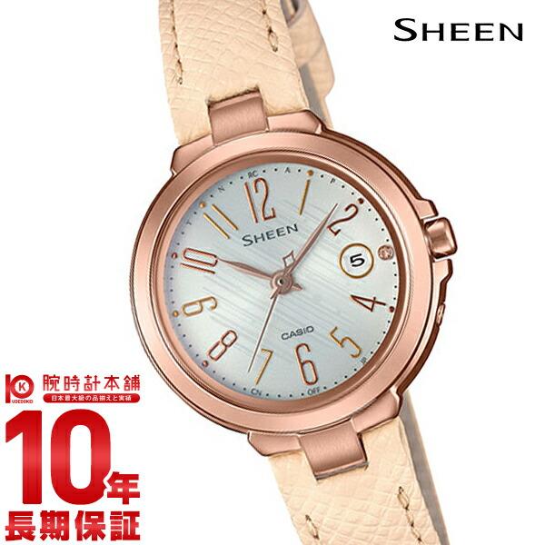 カシオ シーン SHEEN ソーラー ステンレス SHW-5100PGL-7AJF レディース2018/10/05(予約受付中)