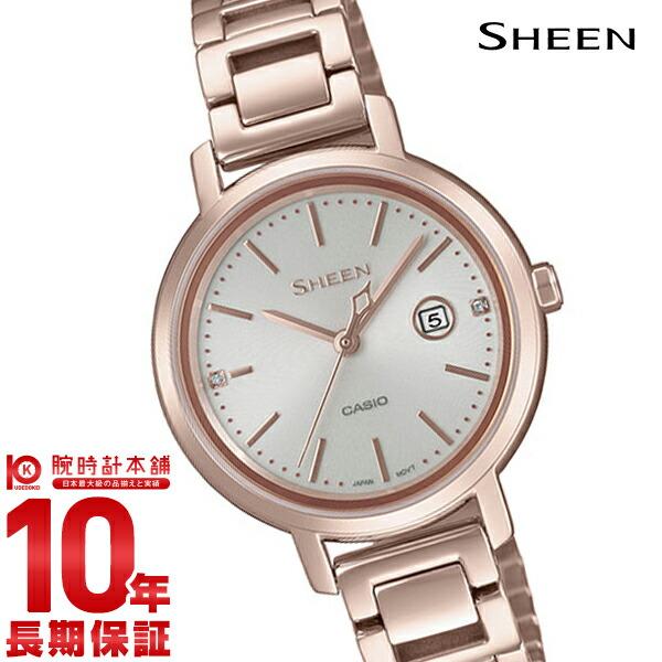 カシオ シーン SHEEN ソーラー ステンレス SHS-4525CG-4AJF レディース2018/10/05(予約受付中)