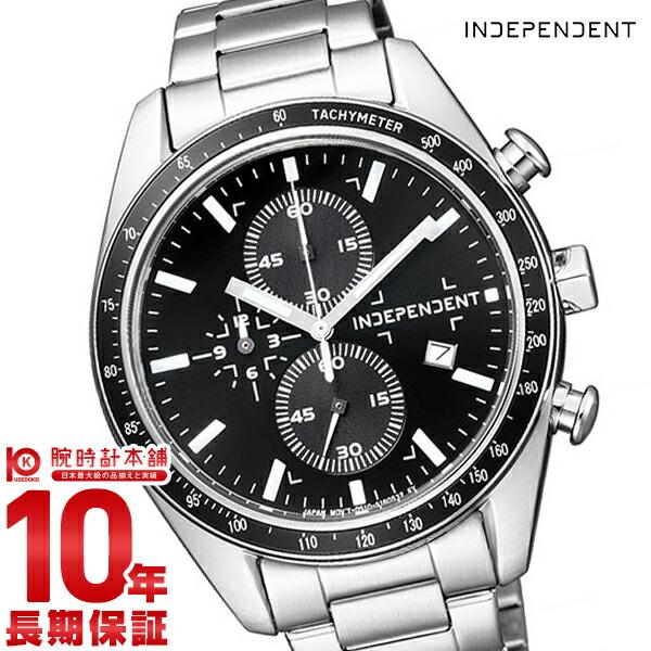 インディペンデント INDEPENDENT クロノグラフ スポーティー クロノグラフ タイムレスライン Timeless Line BA7-115-51 腕時計 メンズ ブラック