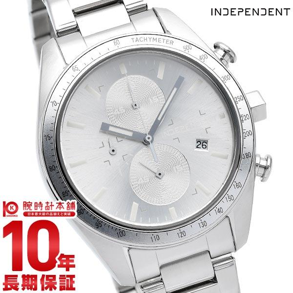 インディペンデント INDEPENDENT クロノグラフ スポーティー クロノグラフ タイムレスライン Timeless Line BA7-115-91 腕時計 メンズ シルバー