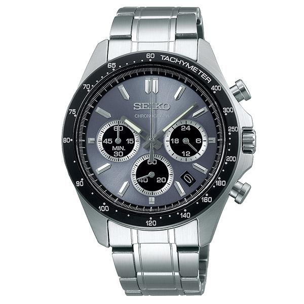 セイコー セイコーセレクション クロノグラフ 10気圧防水 SEIKO SELECTION SBTR027 腕時計 セイコー スピリット メンズ シルバー