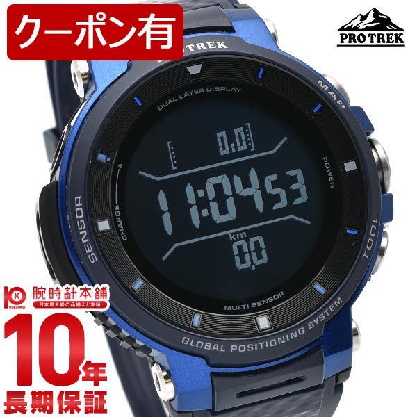 【店内ポイント最大37倍!30日23:59まで】カシオ プロトレックスマート 腕時計 メンズ PROTRECK Smart Bluetooth搭載 アウトドアウォッチ WSD-F30-BU 就職祝い 男性 プレゼント【あす楽】