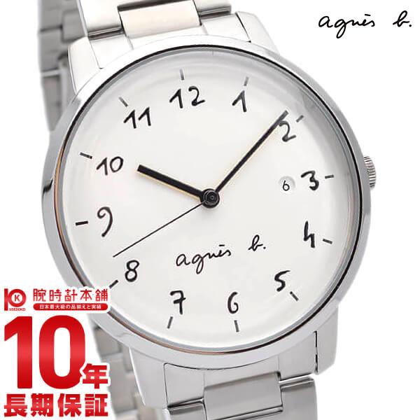 【店内最大37倍!28日23:59まで】アニエスベー 時計 agnes b. ペアモデル FCRK991 Marcello マルチェロ 腕時計 メンズ ホワイト【あす楽】
