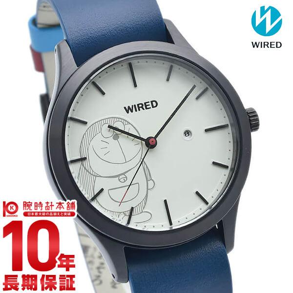 最大1200円割引クーポン対象店 セイコー ワイアード SEIKO WIRED ドラえもん 限定モデル 限定1200本 AGAK710 腕時計 ユニセックス ホワイト×ブルー 時計【あす楽】