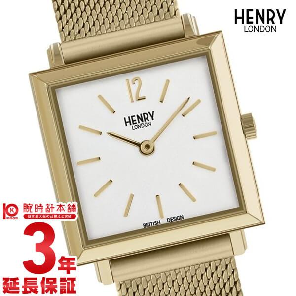 ヘンリーロンドン HENRY LONDON ヘリテージ スクエア HL26-QM-0266 レディース