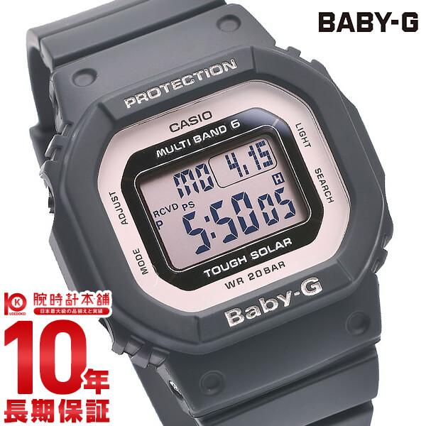 最大1200円割引クーポン対象店 カシオ ベビーG BABY-G 電波ソーラー BGD-5000-1BJF レディース(予約受付中)
