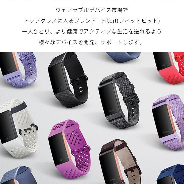 フィットビット ウェアラブル Fitbit Charge3 ブラック ブルーグレイ FB410GMBK CJK FB410RGGY CJKgyvm7I6bYf