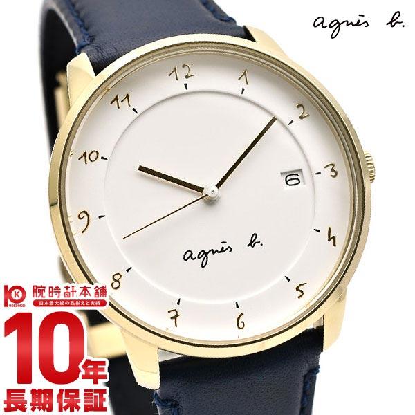 【最大2000円OFFクーポン!&店内ポイント最大48倍!25日23:59まで】アニエスベー 時計 メンズ マルチェロ ホワイト agnes b. Marcello FBRK996 腕時計