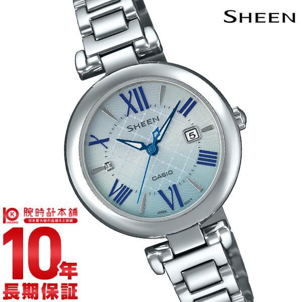 最大1200円割引クーポン対象店 カシオ シーン SHEEN SHS-4502D-2AJF レディース