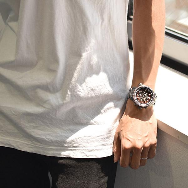 店内最大ポイント43倍 18日限定シチズン プロマスター エコドライブ ソーラー 電波 腕時計 30周年記念モデル 世界限定1989本 SKYシリーズ CITIZEN PROMASTER CC7015 55E メンズ スポーツウォッチ ブラックあす楽ZuPXOkiT