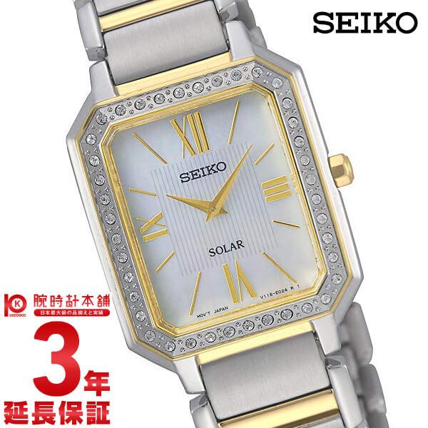 【20日まで!当店なら1万円OFFクーポン使える!】 セイコー 逆輸入モデル SEIKO SUP428P1 レディース
