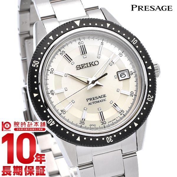 【20日は店内最大ポイント37倍!】 セイコー プレザージュ 腕時計 2020年限定 1964本 コアショップ専用 メンズ SEIKO PRESAGE SARX069 時計 機械式 自動巻き 手巻き 白 メタル