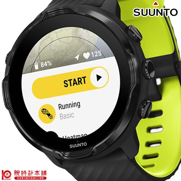 スント ギフト SUUNTO SUUNTO7 Black 激安 SS050379000 Lime ユニセックス