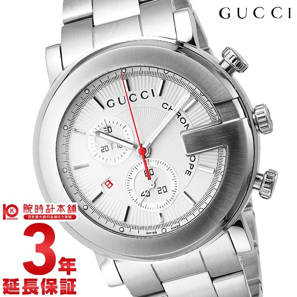 【24回金利0%】グッチ GUCCI 101シリーズ M Gフェイス クロノグラフ YA101339 [輸入品] メンズ 腕時計 時計